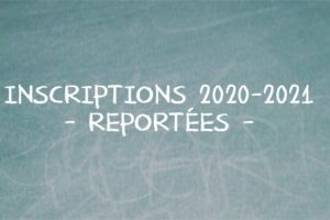 AFFICHE INSCRIPTIONS 2020-2021 reportées site vignette